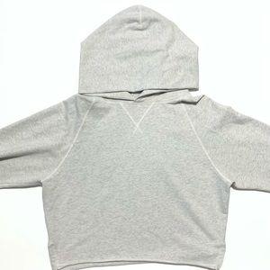 Lululemon Grey Cropped Hoodie Size 6